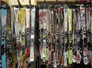 choosing a demo ski hire